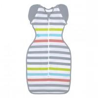 Love To Swaddle UP™ 50/50 Summer Lite Multi Stripe L - 8.5-11kg