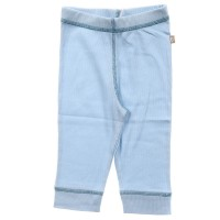 2PK Organic Essentials Ribbed Pant in Blue