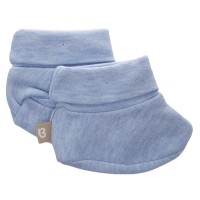 Babyushka Organic Essentials Booties in Blue Marle