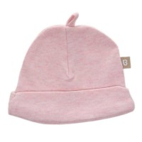 Babyushka Organic Essentials Soft Cap in Pink Marle