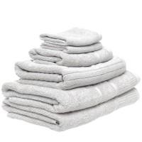 6 Piece Towel Set in Slate