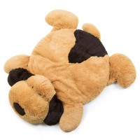 Fluffy Dog Plush Playmat