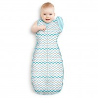 Love To Swaddle UP 50/50 Multi Zig Zag XL - 11-14kg