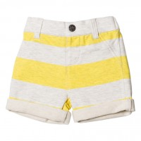 Bebe by Minihaha Oliver Striped French Terry Short