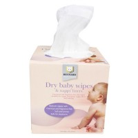 Boxed Everyday Dry Wipes 100pc MULTIPACK x 12