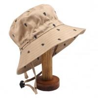 Fox & Finch Panama Bug Print Sun Hat