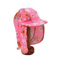 Bebe by Minihaha UPF50+ Kalani Print Legionnaire Swim Hat