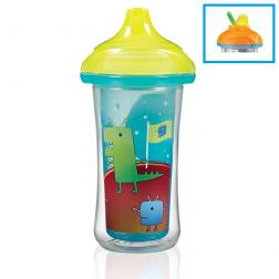 Munchkin Click Lock™ Insulated Flip Straw Cup 266ml Space Design