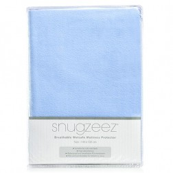 Breathable Wetsafe Mattress Protector in Blue