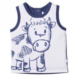 Bebe by Minihaha Coen Big Cow Singlet