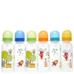 6-Pack BPA Free Bottle Set