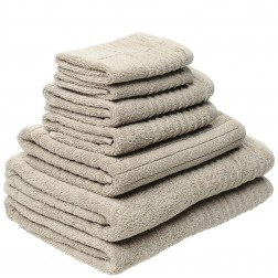 7 Piece Luxury 600GSM Towel Set in Taupe