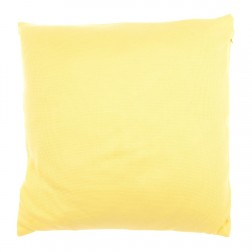 Splice Collection Cushion in Lemon 50 x 50cm