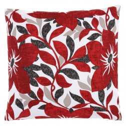 Print Collection Cushion in Poppy 40 x 40cm