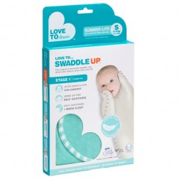 Swaddle UP™ Summer Lite in Ice Green