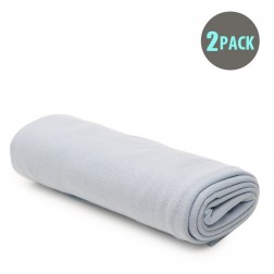 2pk Baby Stretch Wrap - Blue