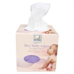 Boxed Everyday Dry Wipes 100pc