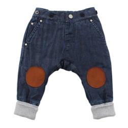 Fox & Finch Highlands Knee-Patch Denim Pant