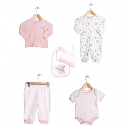 Elephant Safari 6 Piece Value Set