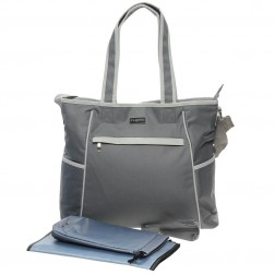 Essentials Nappy Tote in Oyster