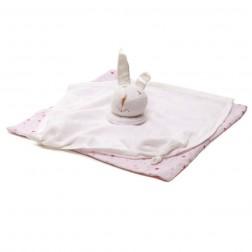 Snugzeez Muslin Comforter - Pink Star Print