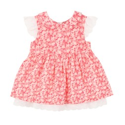 Bebe by Minihaha Hattie Collared Dress W Lace Trim