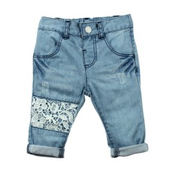 Bebe by Minihaha Anais Lace Patch Jean