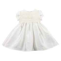 Bebe by Minihaha Special Occasion S/S Lace & Taffeta Dress